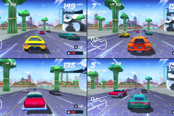 Horizon Chase Turbo co-op