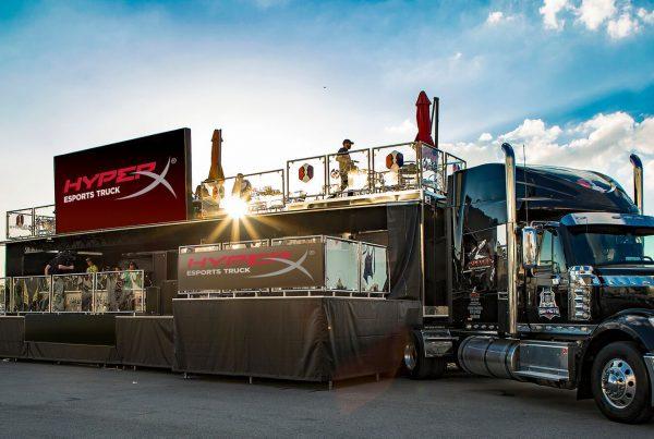 HyperX_Esports_Truck_eArena Móvel