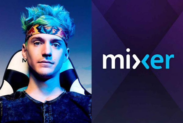 "Tyler ""Ninja"" Blevis migra para a Mixer, streamers de games mais assistidos"