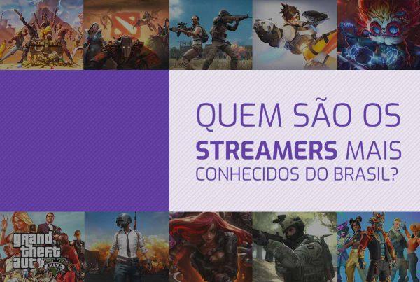 Streamers mais conhecidos do Brasil