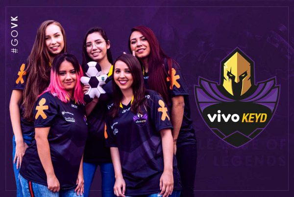 Vivo Keyd Lineup Feminina de League of Legends, #GOVK